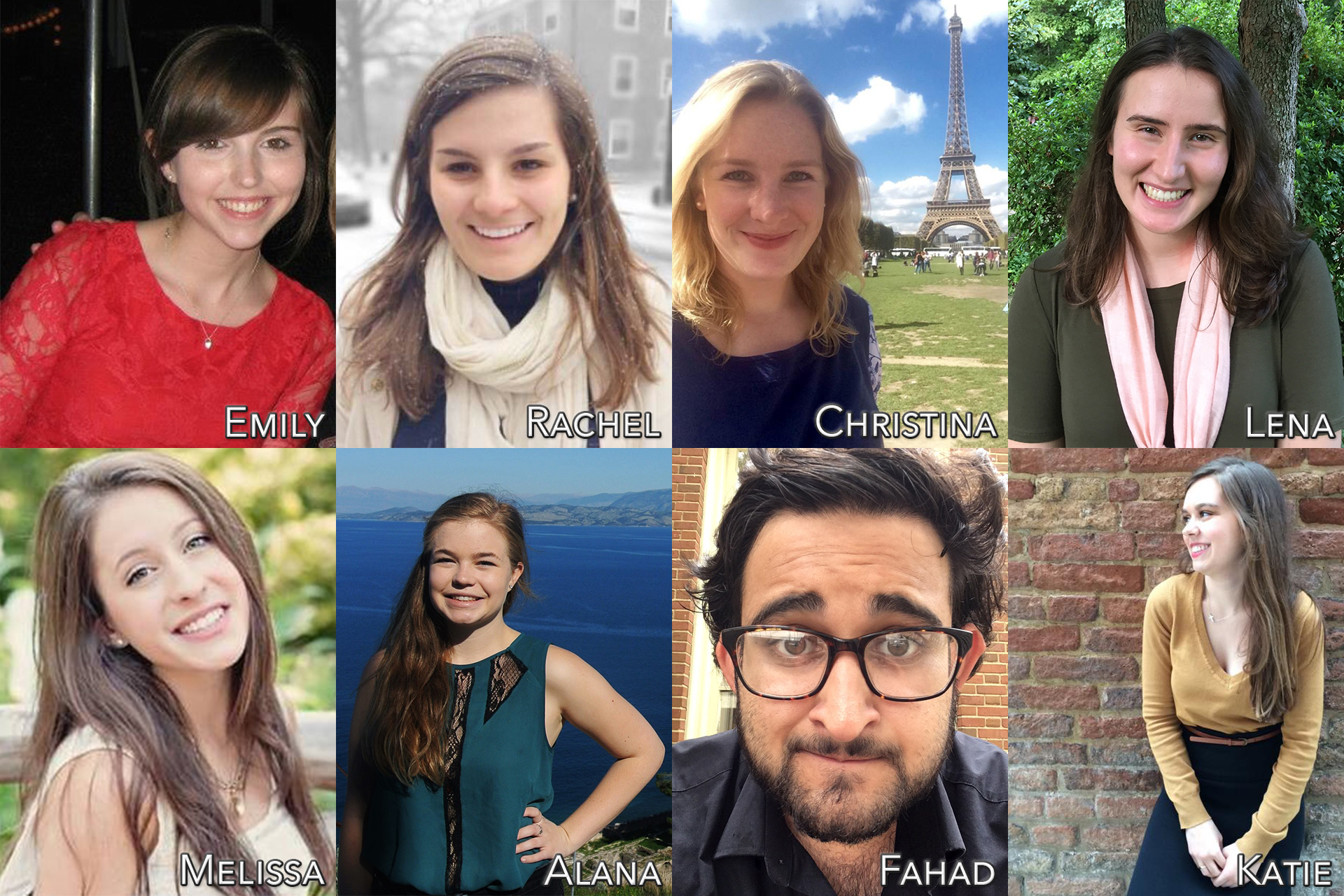 WFU Press interns for Fall 2016