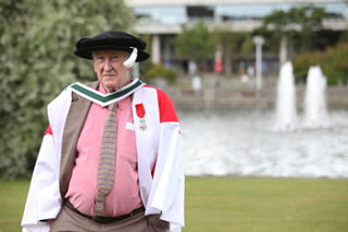 John Montague receives honorary doctorate from University College Dublin