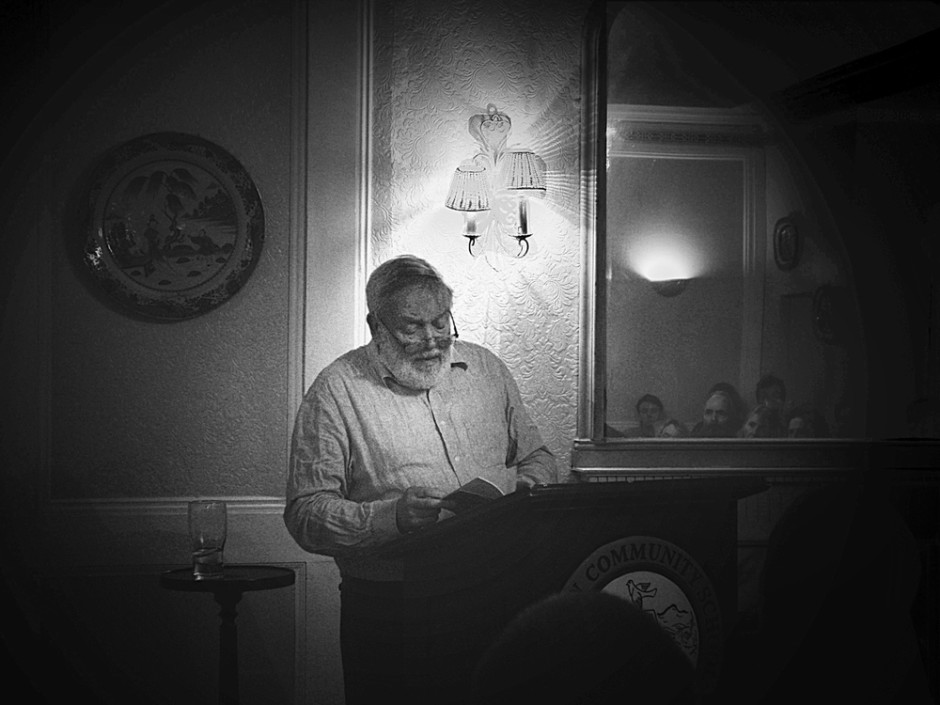Michael Longley, photo by Niall Hartnett