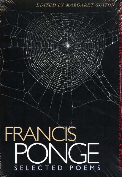 Selected Poems by Francis Ponge