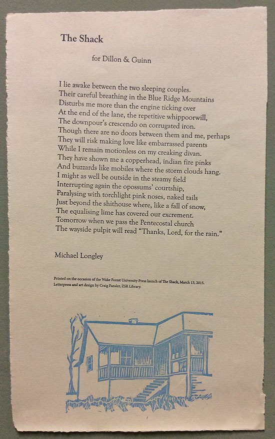"""The Shack"" Broadside"