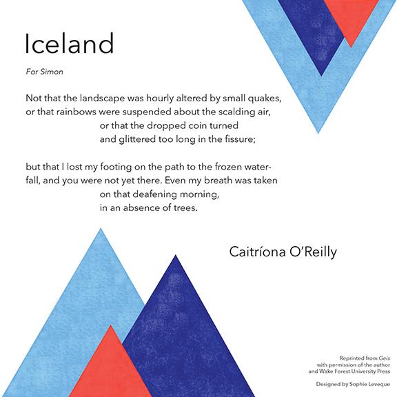 """""""Iceland"""" by Caitríona O'Reilly"""