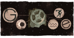 Google Logo, Antikythera Mechanism