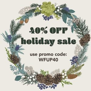 40% off Holiday sale